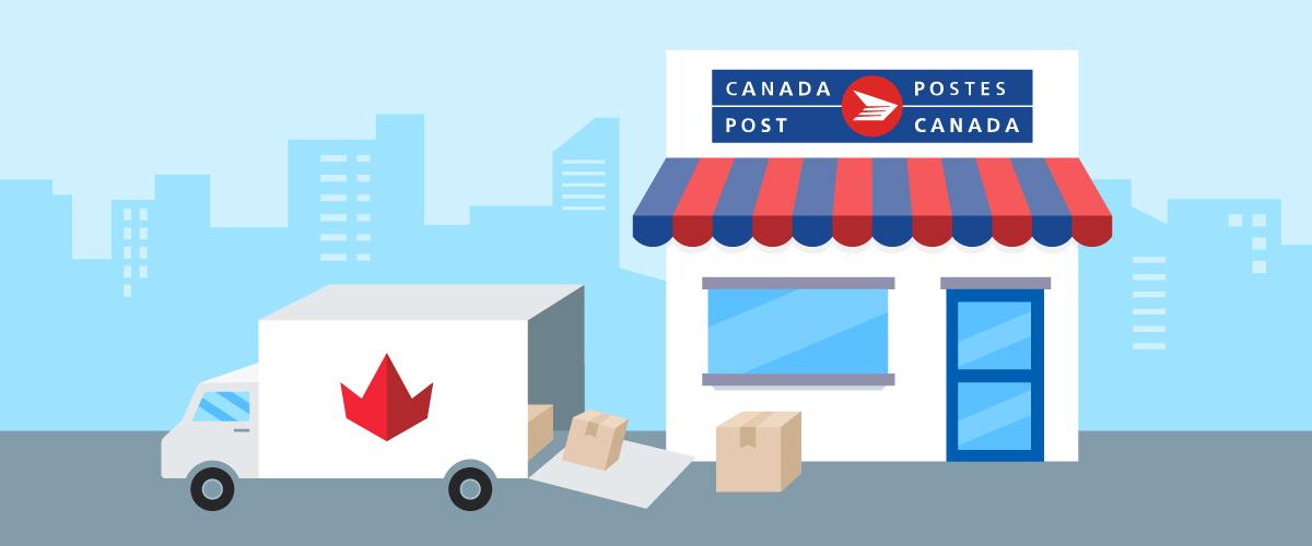 Tarifs par zones au Canada avec suivi