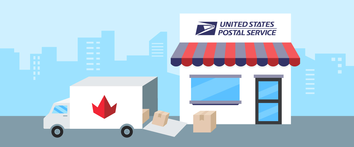 USPS tracking update delay for Quebec region clients